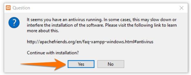XAMPP Installation on PC