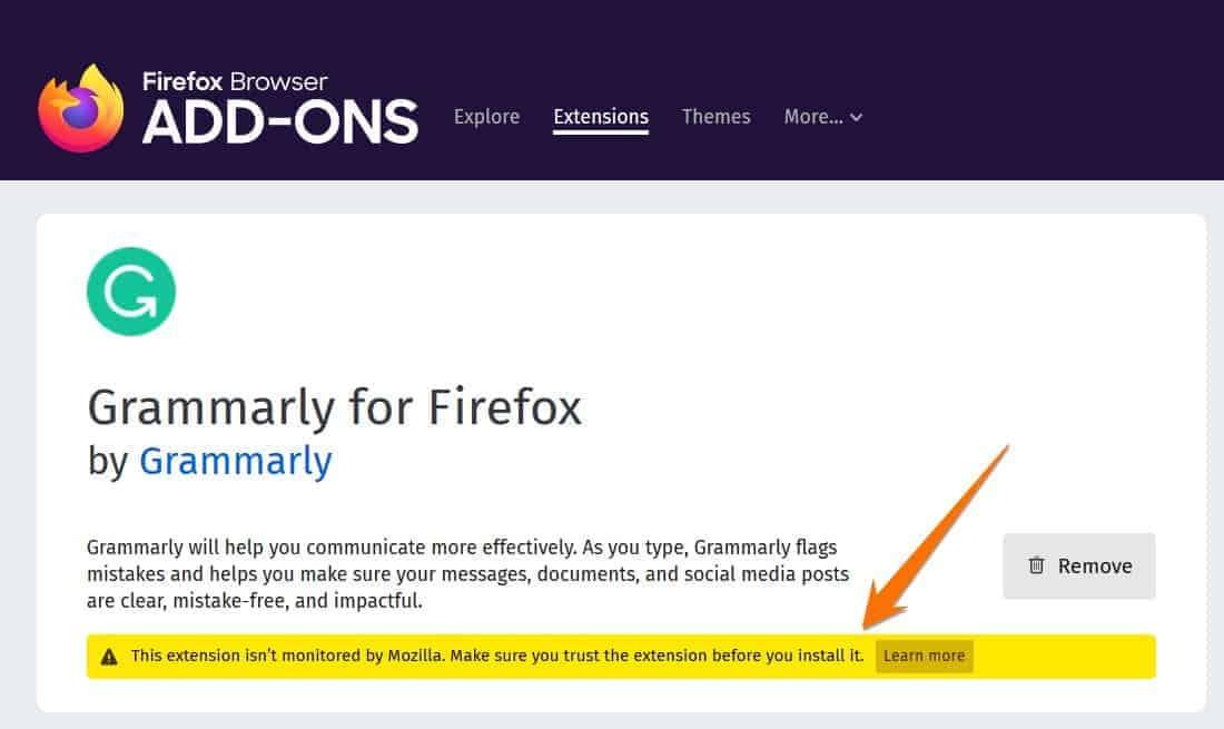 Firefox add on