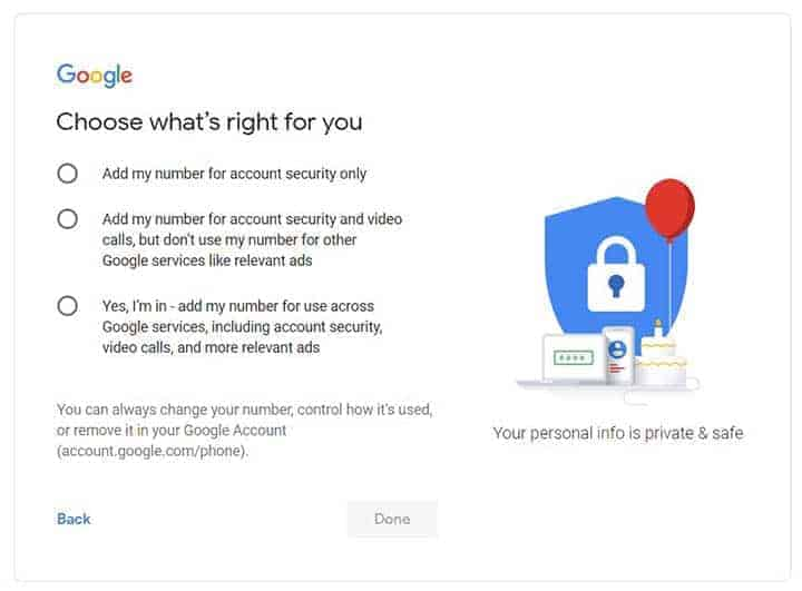 How to set up a Gmail account correctly