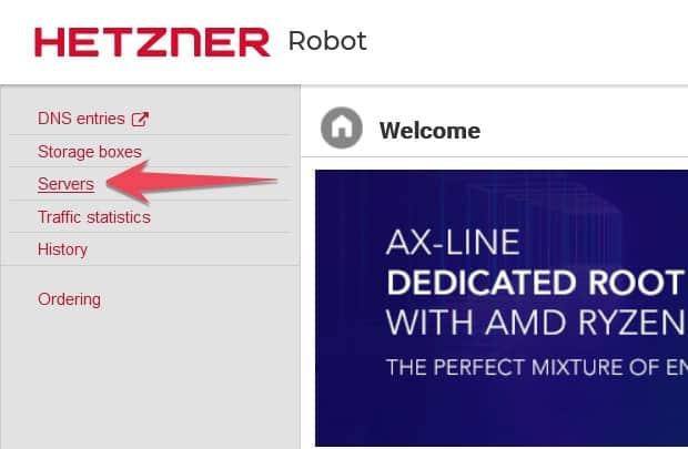 Hetzner Server